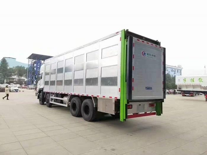 天龙铝合金畜禽运输车