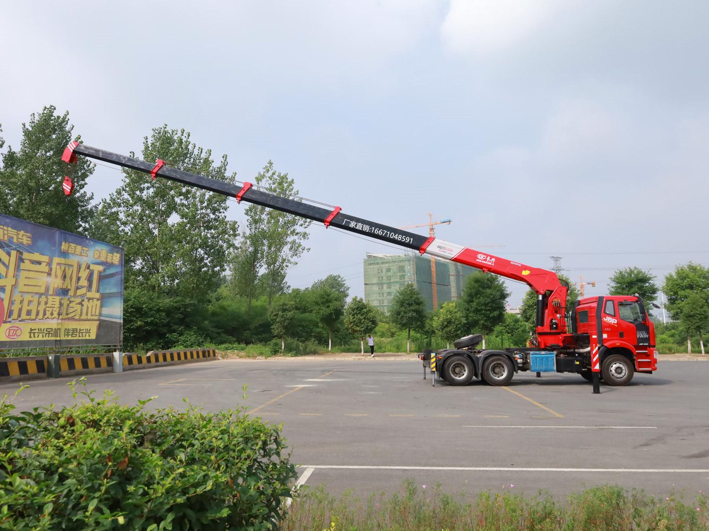 解放牵引头长兴16吨随车吊全方位高清图展示