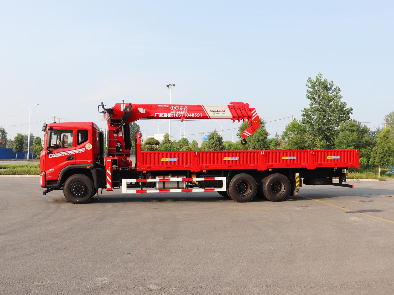 东风华神DV5长兴12吨随车吊全方位高清图展示