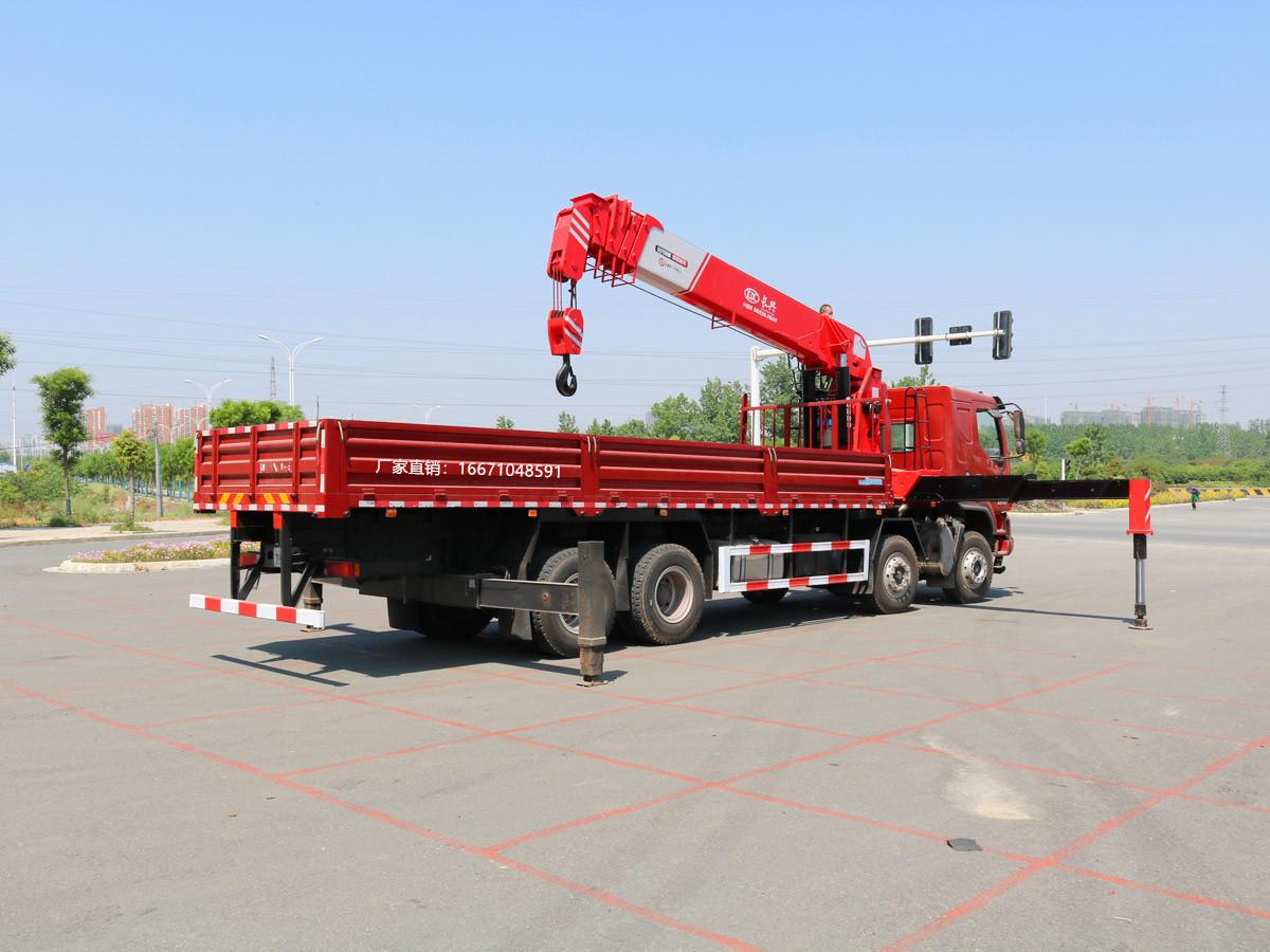 柳汽乘龙前四后八长兴20吨随车吊全方位高清图展示