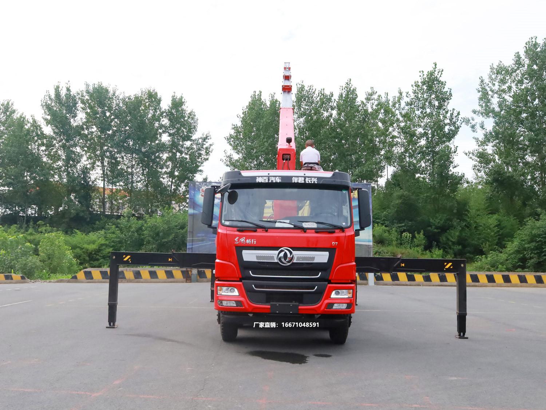 东风畅行D7三一14吨随车吊全方位高清图展示