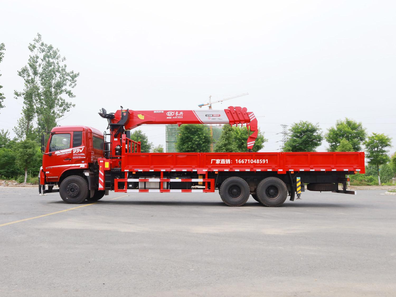 东风畅行D3V长兴12吨随车吊全方位高清图展示