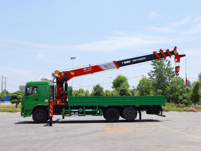 三环昊龙提升桥长兴12吨随车吊全方位高清图展示