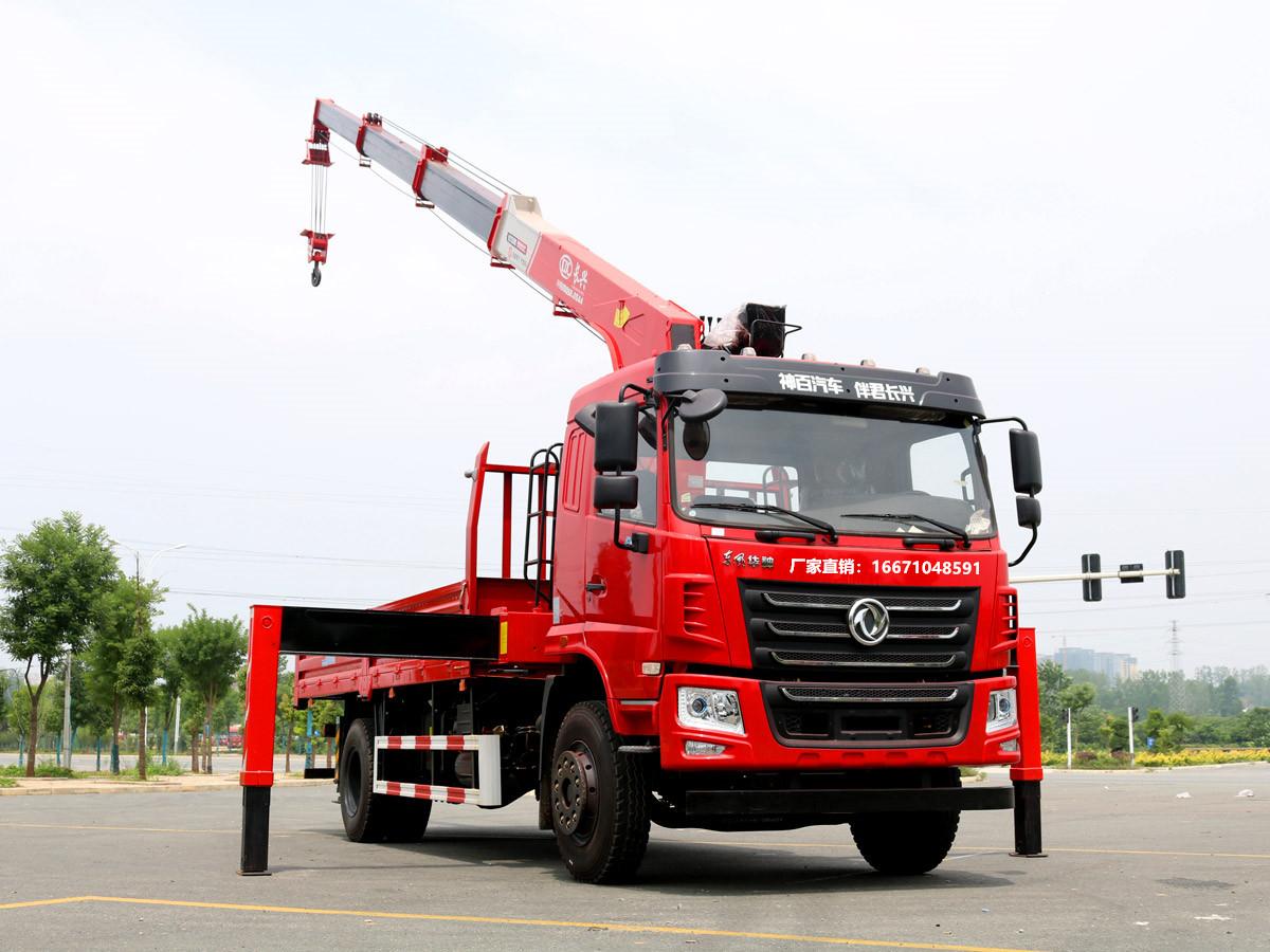 东风华神F5长兴8吨随车吊全方位高清图展示
