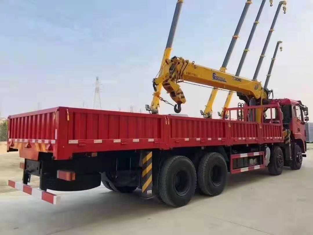 东风景程徐工14吨随车吊全方位高清图展示