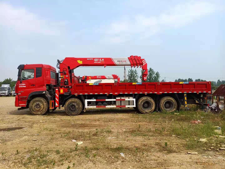 东风天龙长兴14吨随车吊全方位高清图展示