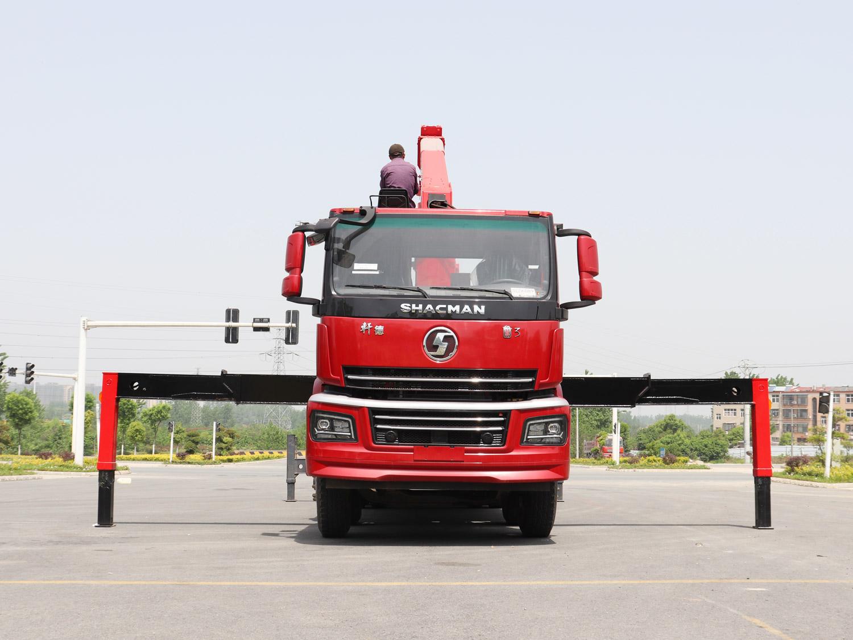 陕汽冀3长兴14吨随车吊全方位高清图展示