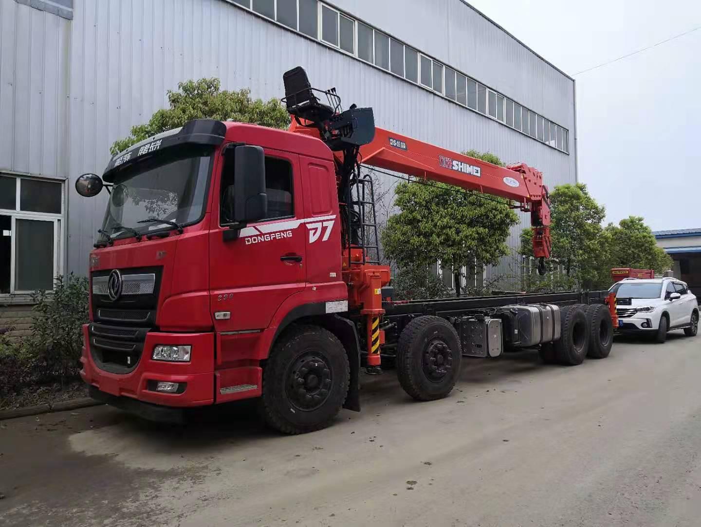 东风畅行D7石煤16吨随车吊全方位高清图展示