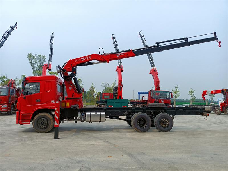 三环昊龙提升桥长兴8吨折臂随车吊全方位高清图展示