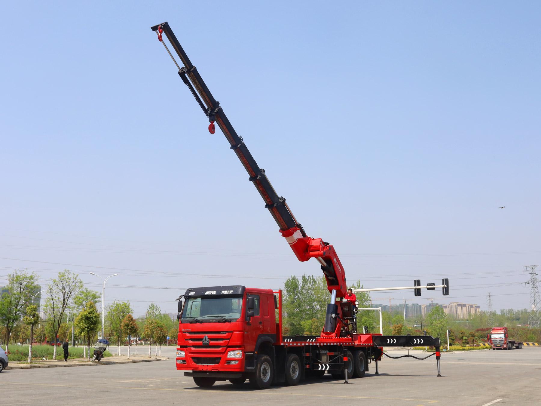 SQZ2180(4米吊55吨)长兴折臂吊机全方位高清图展示