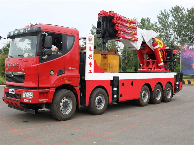 100吨长兴折臂汽车起重机