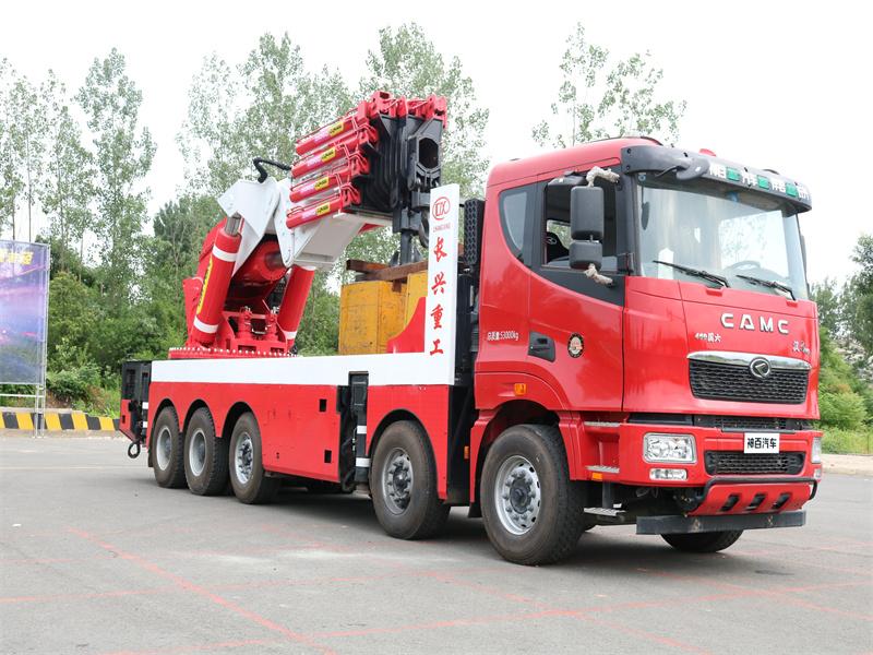 SQZ4000(4米吊100吨)长兴折臂汽车起重机全方位高清图展示
