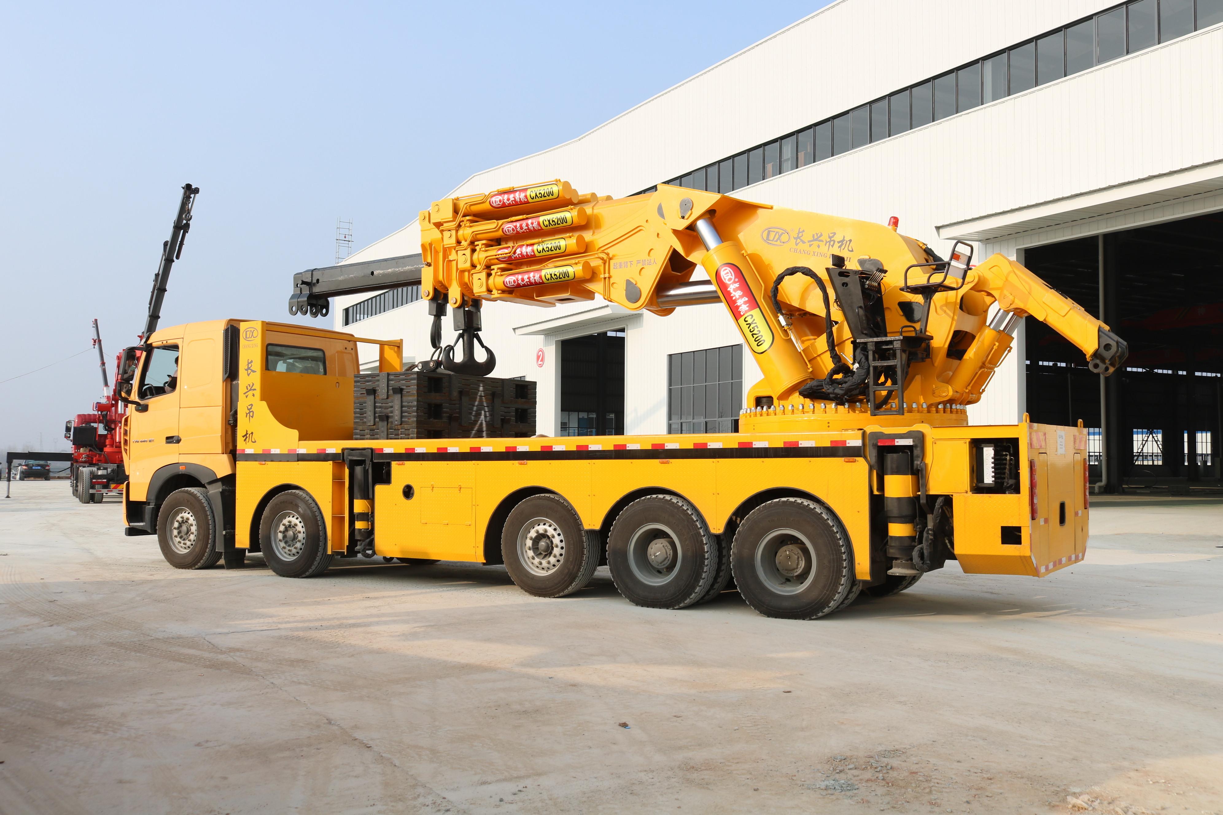 SQZ5200(4米吊130吨)汽车起重机全方位高清图展示
