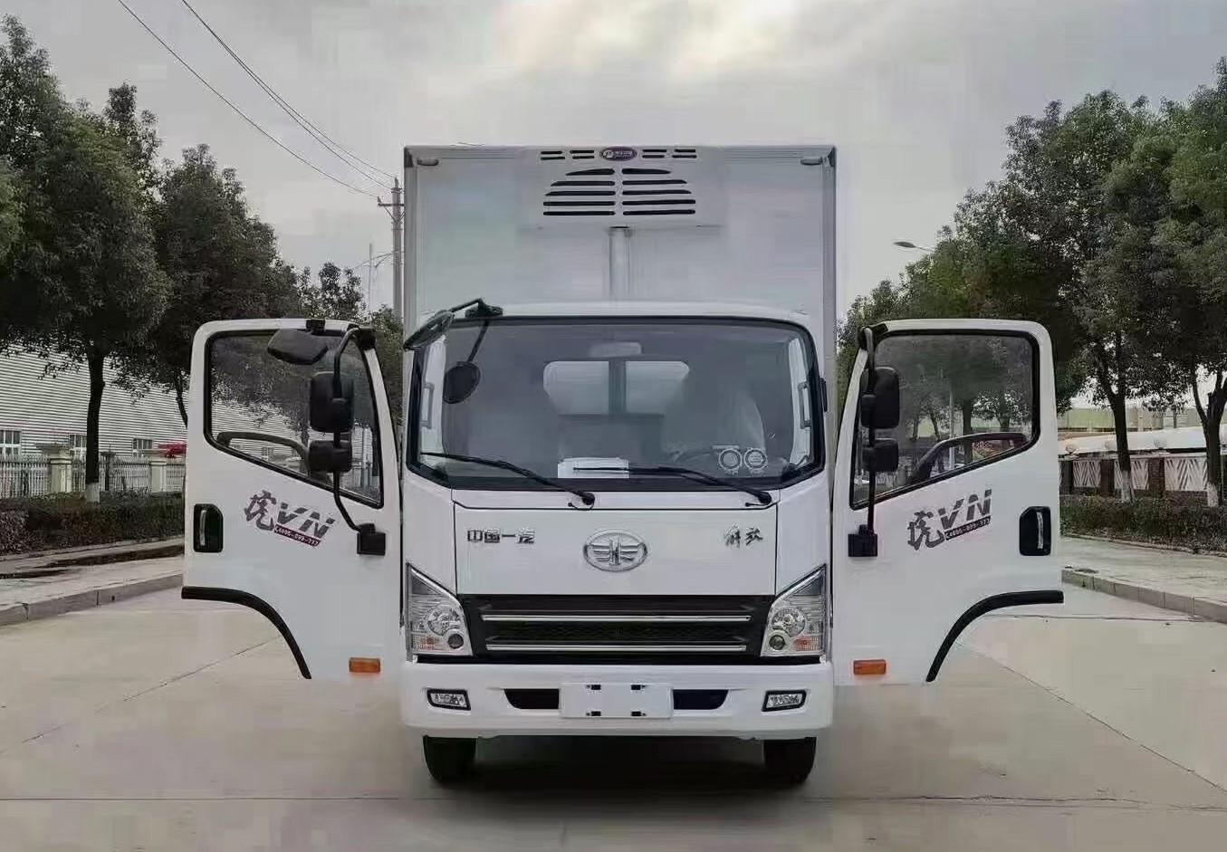 解放虎VN冷藏车全方位高清图展示