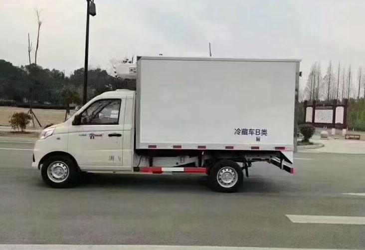 国六福田祥菱V1冷藏车全方位高清图展示