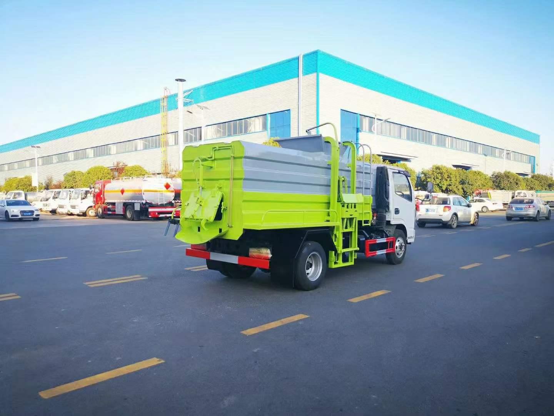 多利卡蓝牌餐厨垃圾车全方位高清图展示