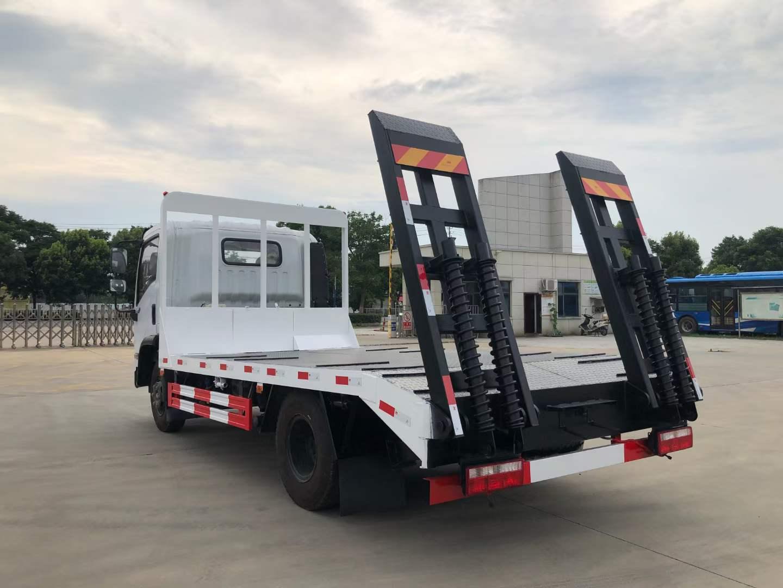 东风福瑞卡F7平板运输车全方位高清图展示