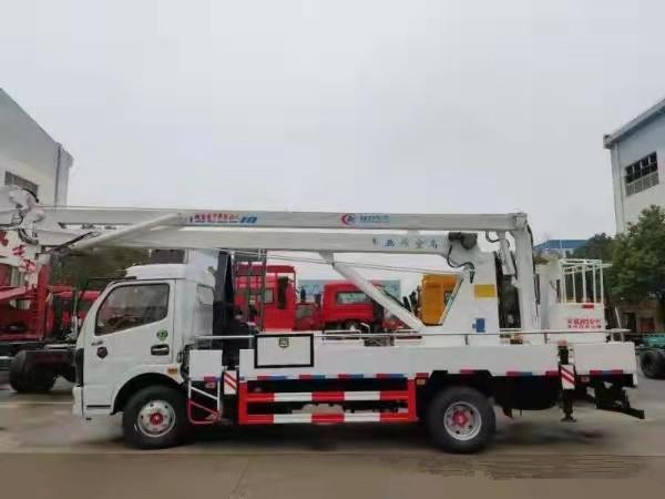 东风多利卡18米高空作业车全方位高清图展示