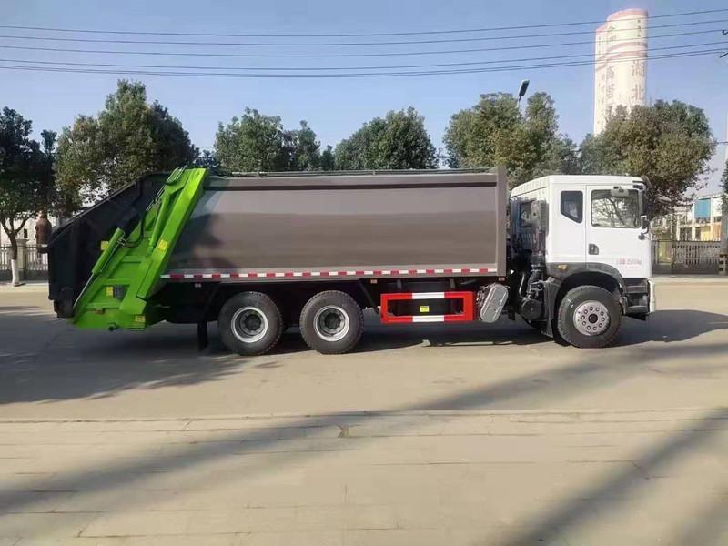 东风华神T5后双桥18方压缩垃圾车