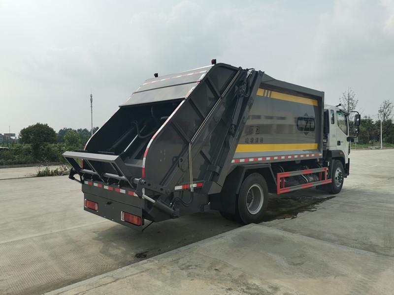 国六福田欧马可12方压缩式垃圾车