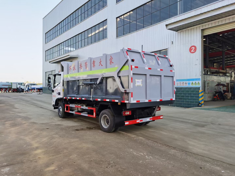 国六福田欧马可S3压缩式对接垃圾车