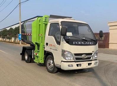 福田4方自装卸式垃圾车
