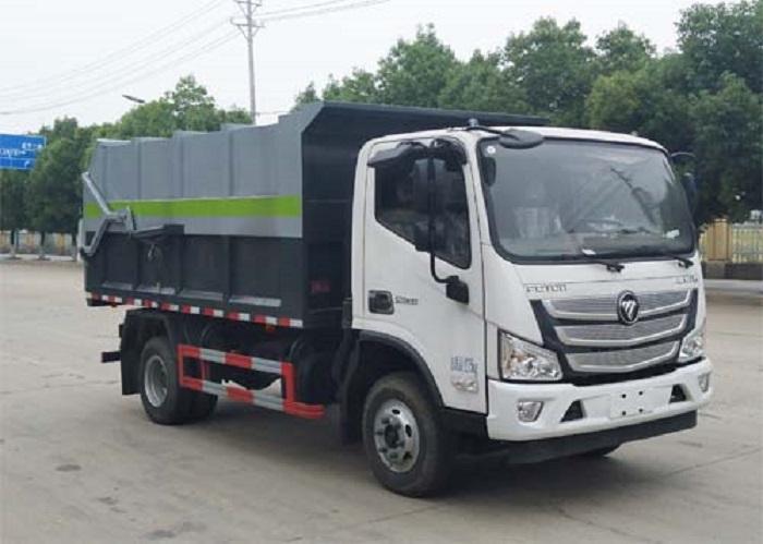 福田对接垃圾车
