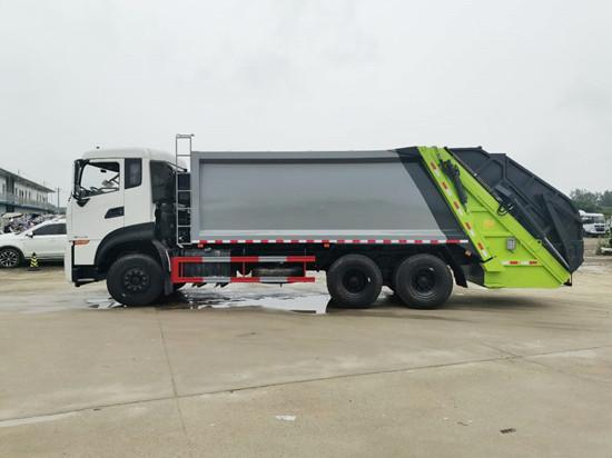 程力压缩垃圾车打造高精尖产品发展方向