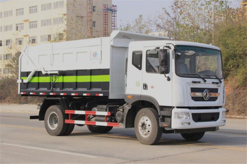 国六东风D9 15-17方对接垃圾车