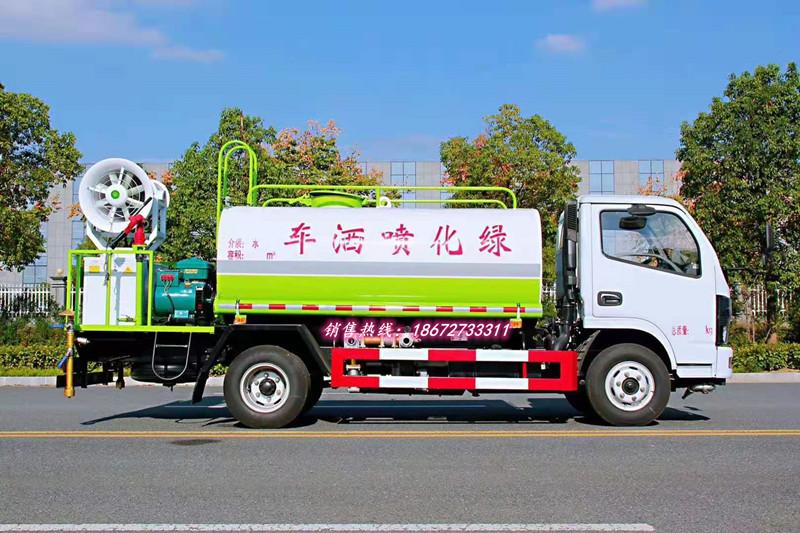 东风5方柴油抑尘车
