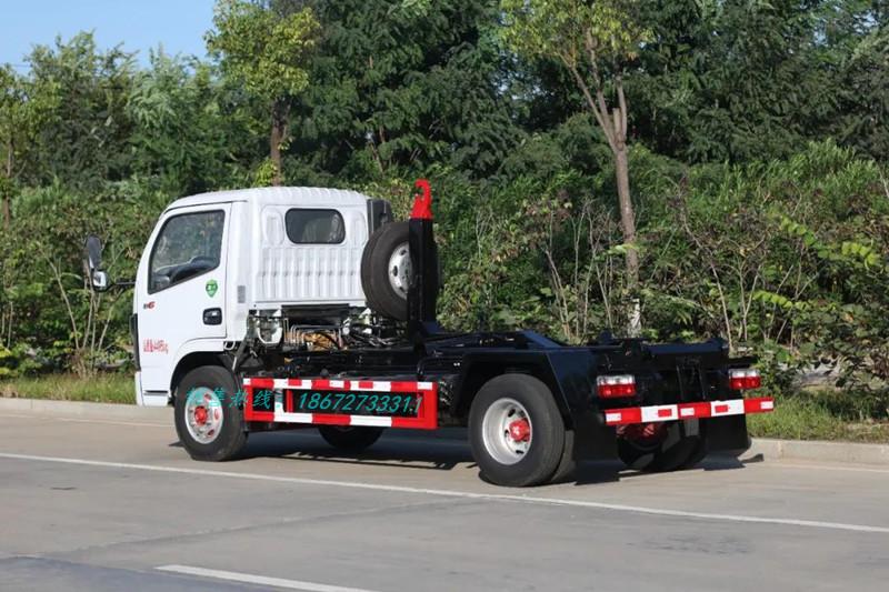 小多利卡6方车厢可卸式垃圾车