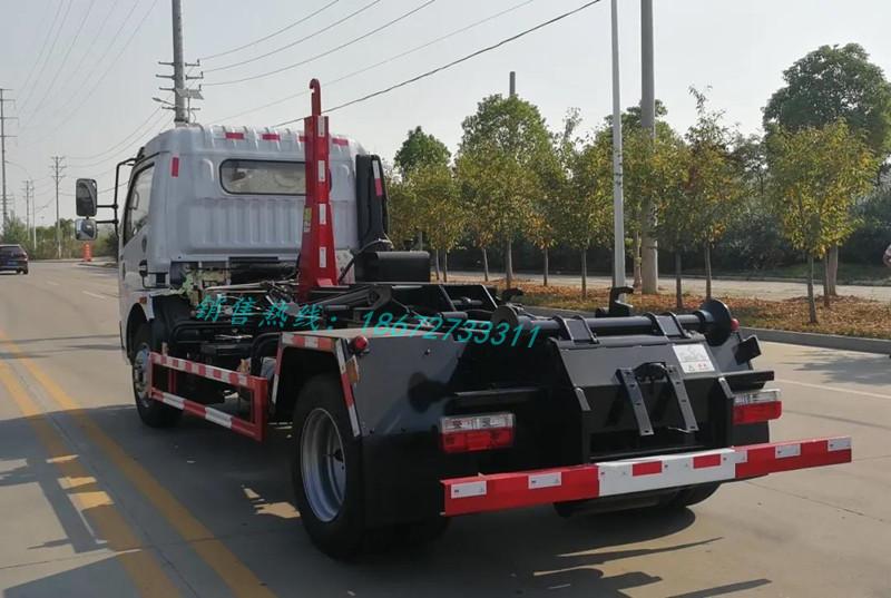 东风多利卡12T套臂车厢可卸式垃圾车