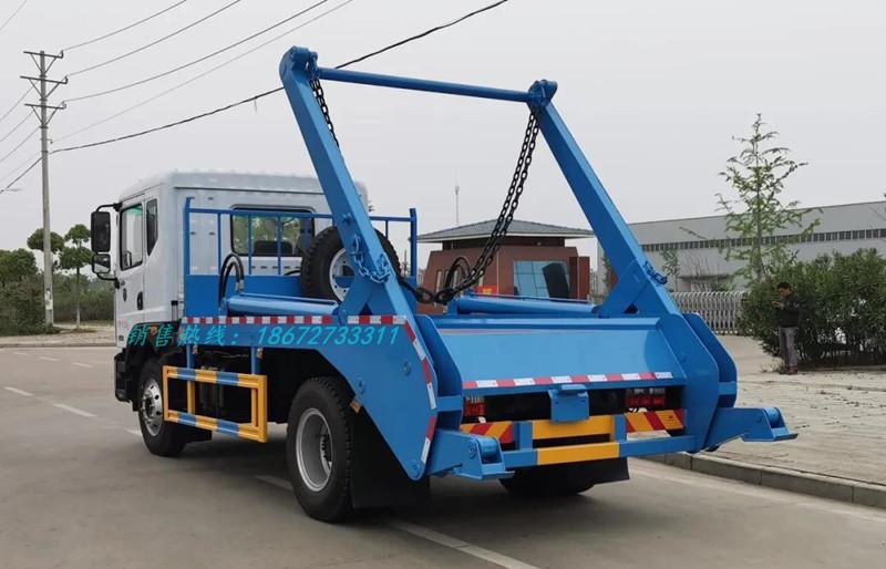 东风d9系列8方吊装式垃圾车