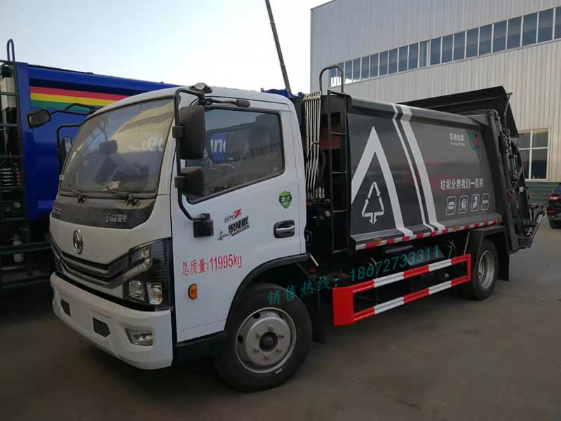 东风小多利卡6方压缩式垃圾车