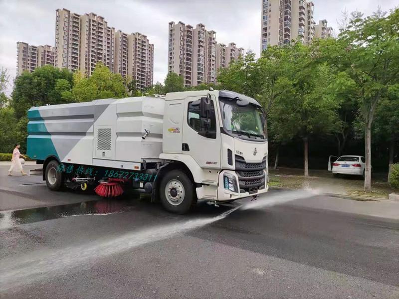东风柳汽18T洗扫车