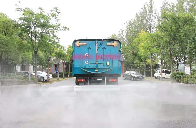 东风柳汽单桥吨位最大的洗扫车