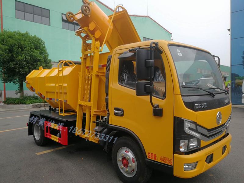 东风多利卡4.5方污泥车
