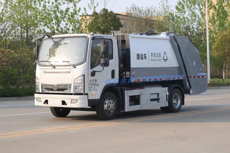 比亚迪6方纯电动压缩垃圾车