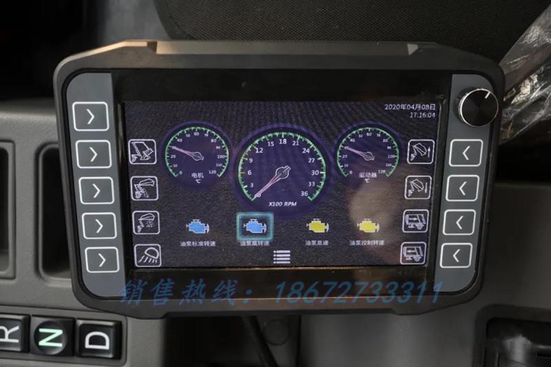 比亚迪6方新能源压缩式垃圾车驾驶室控制系统