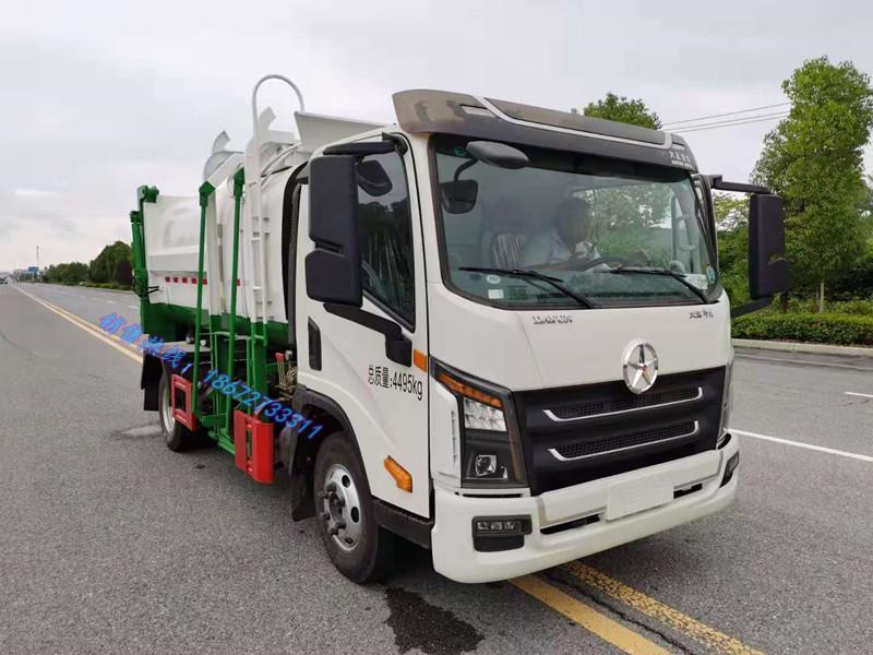 大运7方自装卸式垃圾车