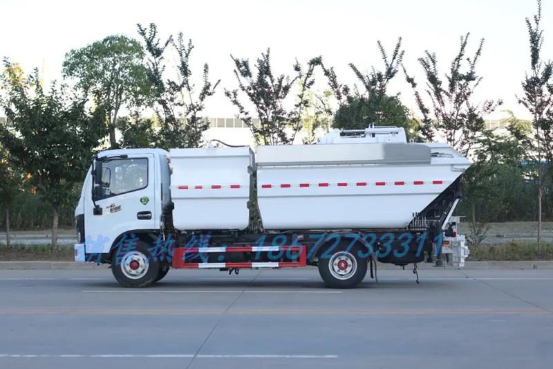 东风多利卡8方分类垃圾车