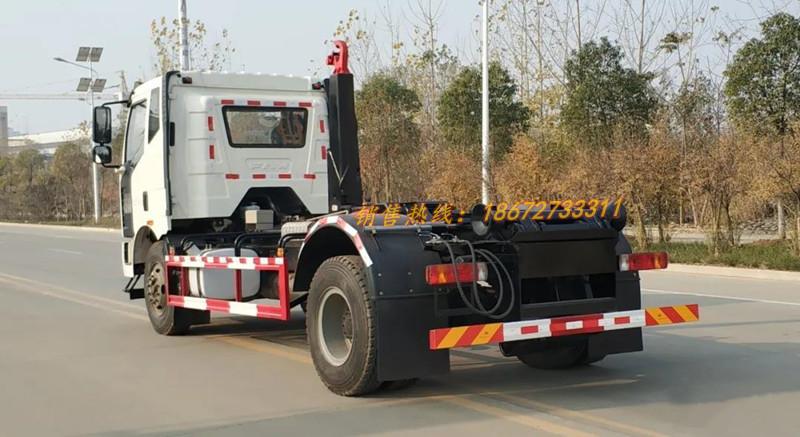 解放16吨车厢可卸式垃圾车