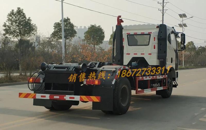 解放J6L单桥16吨勾臂车