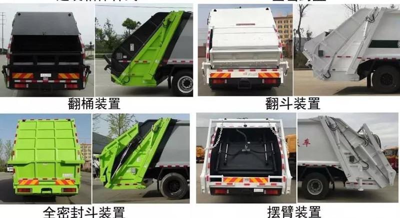 压缩垃圾车选装样式