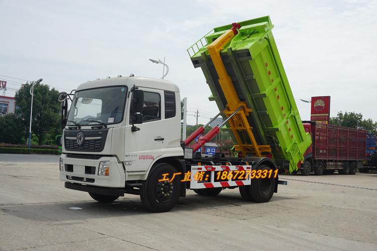 同是东风天锦国六勾臂式垃圾车究竟有什么内在区别