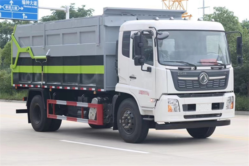 国六东风天锦 15-17方对接垃圾车