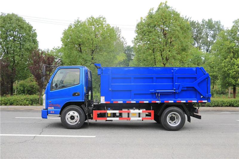 凯马国六8-10方压缩式对接垃圾车