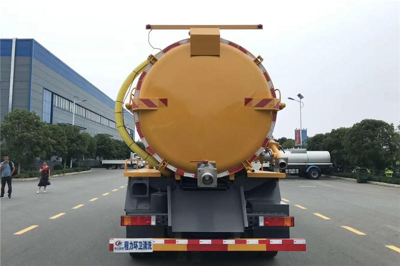 东风天龙国六18方吸污车