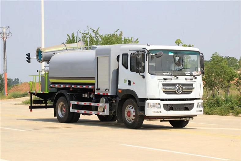 东风D9国六10吨(圆罐)多功能