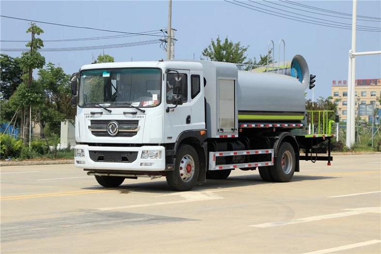 东风D9国六10吨(圆罐)多功能抑尘车